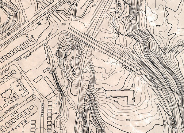 Bayview Ghost map, 1961