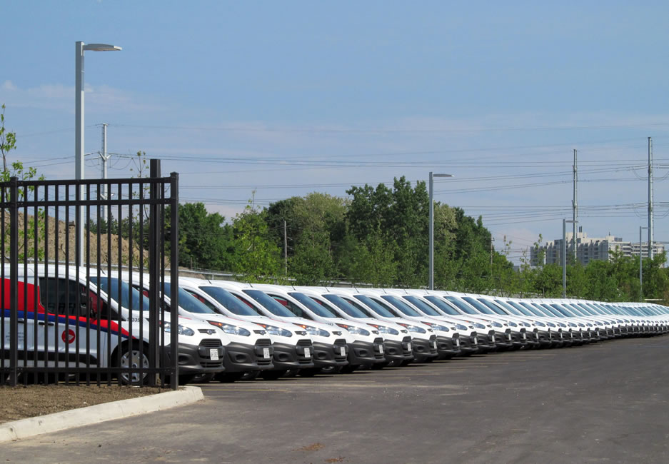 New fleet of Canada Post delivery vehicles